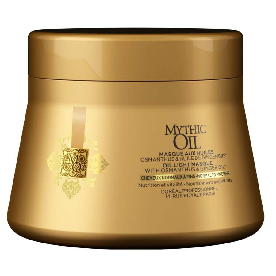 Маска для волос LOreal Professionnel Mythic Oil, 200 мл, для норм. и тонк.в.