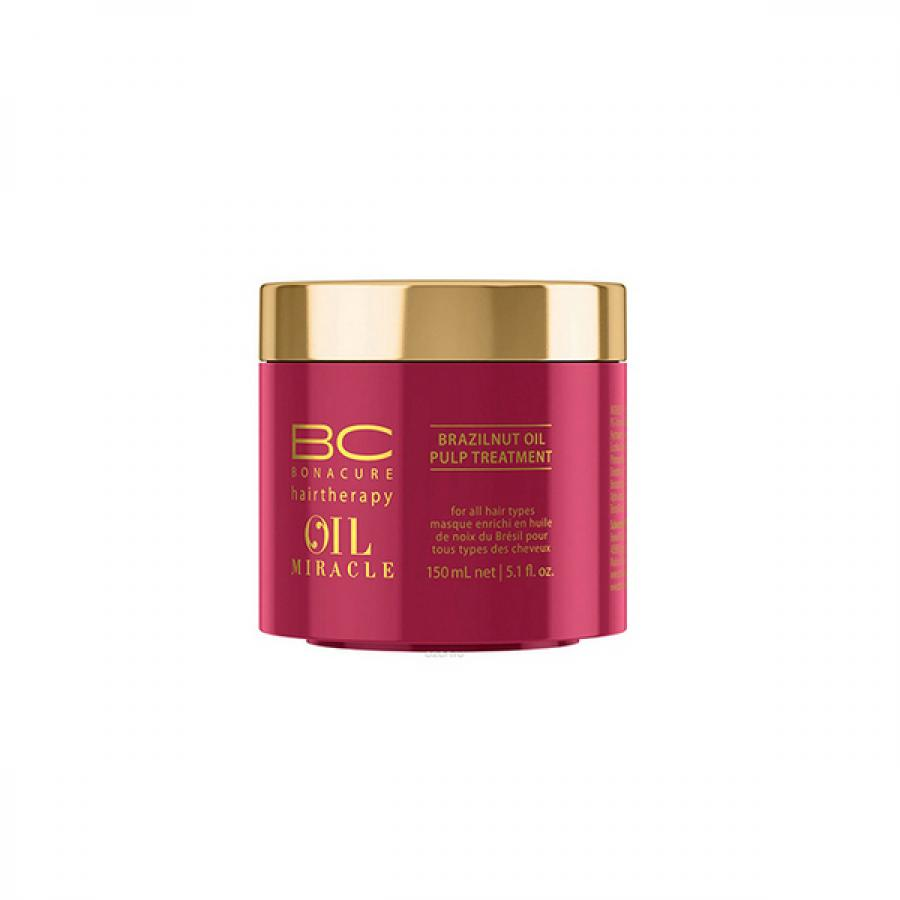 Маска для волос Schwarzkopf Professional Bonacure Oil Miracle Бразильский орех, 150 мл маска bonacure oil miracle barbary fig keratin restorative mask объем 150 мл