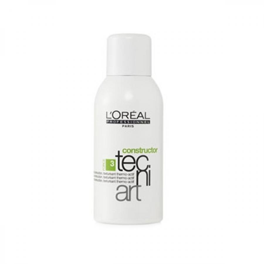 Спрей для укладки волос LOreal Professionnel Tecni.Art Fix Hot Style Constructor 3, 150 мл, текстур