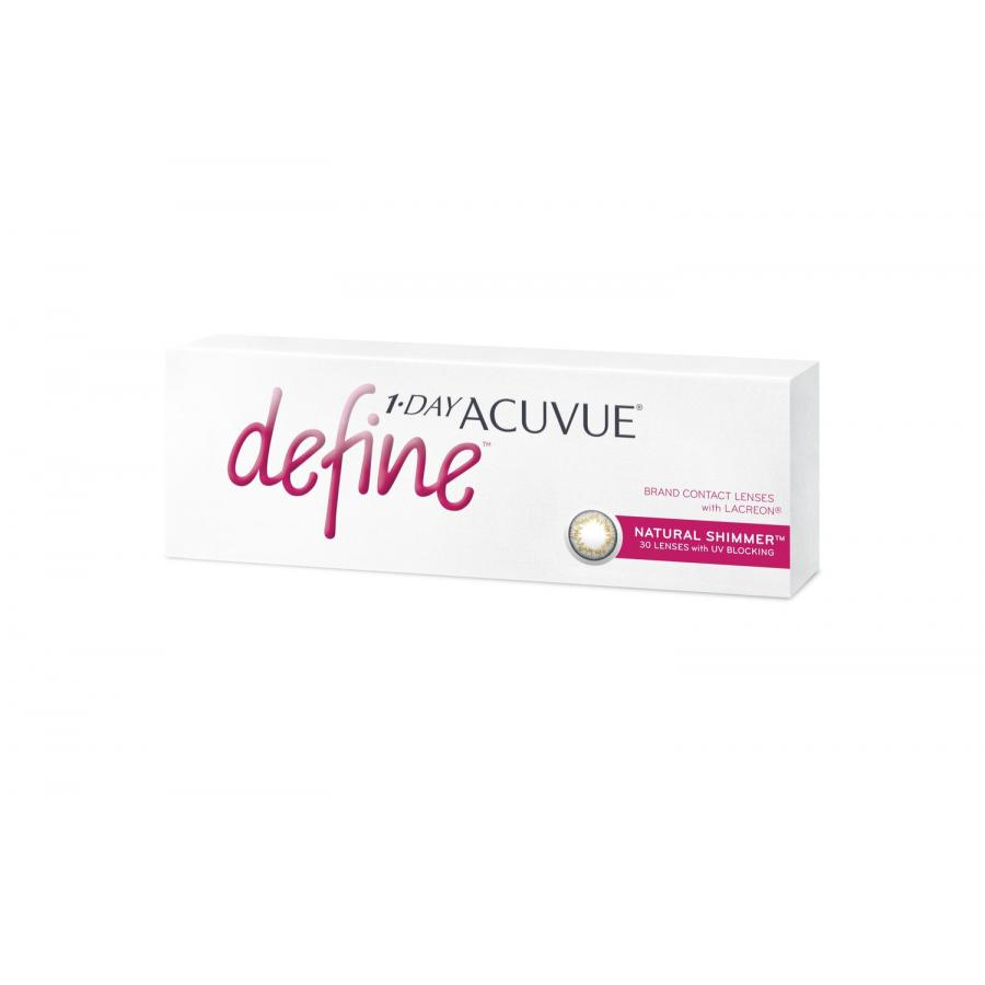 Контактные линзы Acuvue 1-Day Define Natural Shimmer, 30 шт, R:8,5 D:-07,00 new and original for epson pro 4880 4880c 4400 4450 7600 9600 7400 4880 porous pad assy ink tray porous pad ink