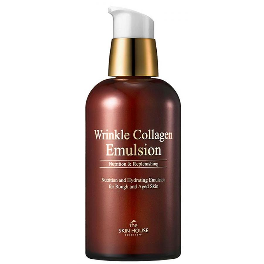 Эмульсия с коллагеном The Skin House Wrinkle Collagen Emulsion, 130мл недорого