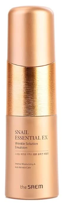 Эмульсия антивозрастная The Saem Snail Essential EX Wrinkle Solution Emulsion 150мл