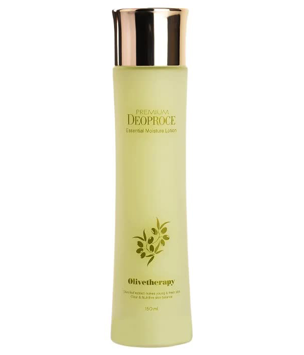 Лосьон для лица DEOPROCE OLIVE THERAPY ESSENTIAL MOISTURE LOTION