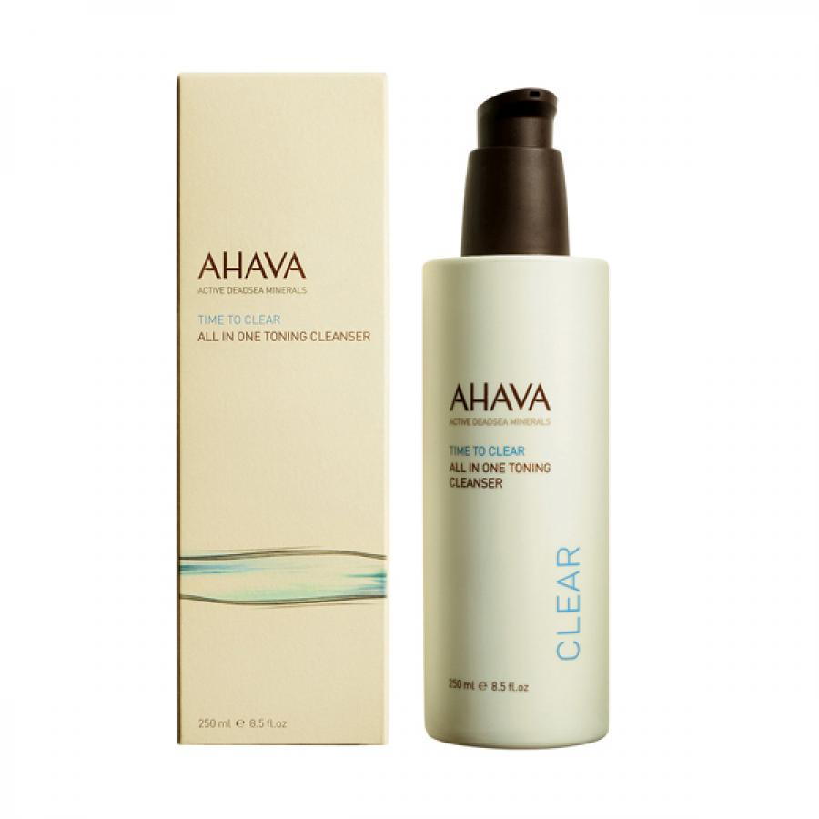 Очищающее средство Все в Одном Ahava Time to Clear All In One Toning Cleanser, 250 мл, тонизирующее partaker elite z13 15 inch made in china 5 wire resistive touch screen intel celeron 1037u oem all in one pc with 2 com