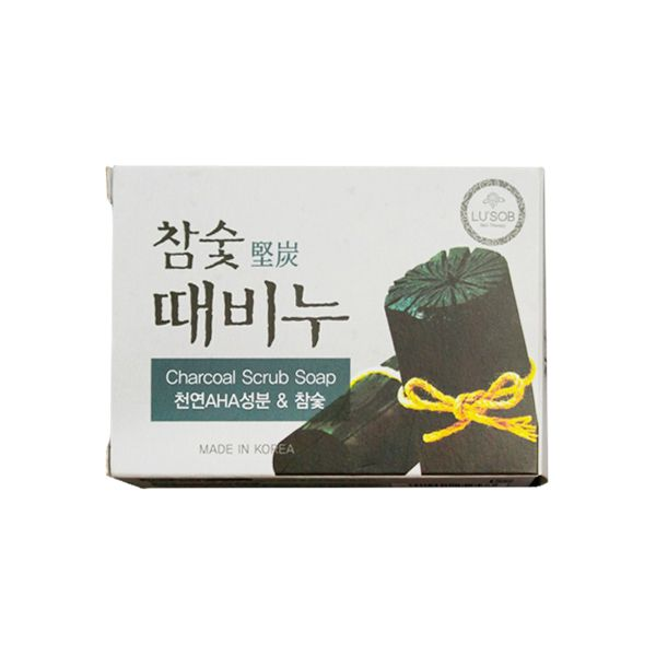 Отшелушивающее мыло Dongbang Charcoal Stain Remover Soap,