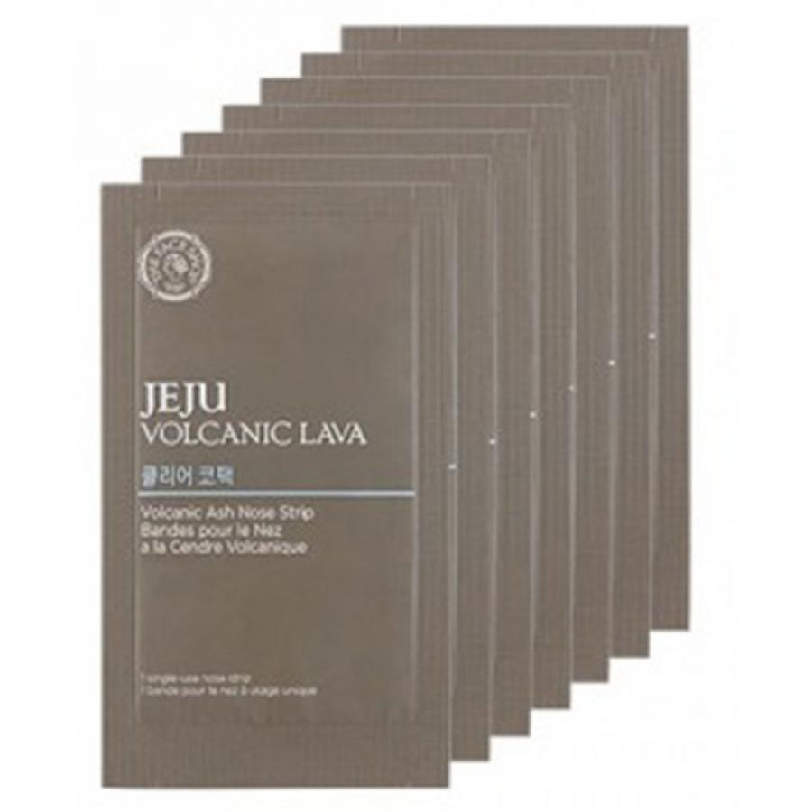 Очищающие патчи для носа The Face Shop Jeju Volcanic Lava Pore Clear Nose Strip