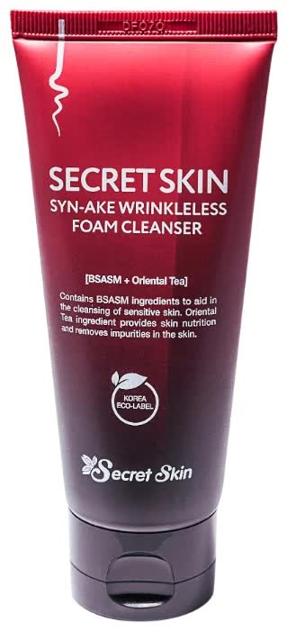 Пенка для лица антивозрастная Secret Skin Syn-Ake Wrinkleless Foam Cleanser 100 мл it s skin power 10 formula syn® ake