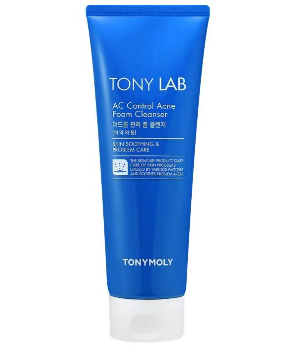 TONYMOLY Пенка для проблемной кожи лица TONY LAB AС Control Acne Foam Cleanser, 150мл tony moly tony lab кислородная пенка ac control bubble foam cleanser 150 мл