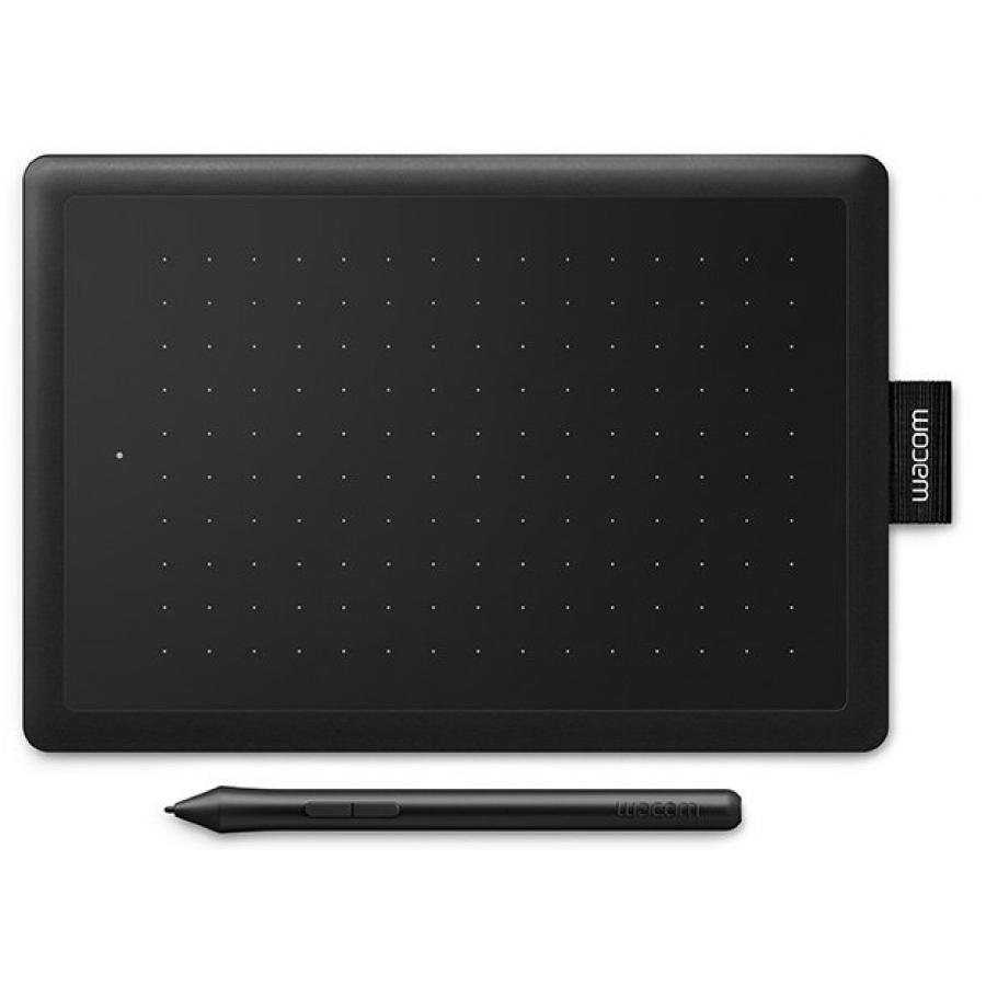 Графический планшет One by Wacom small черный/красный (CTL-472-N) компьютер