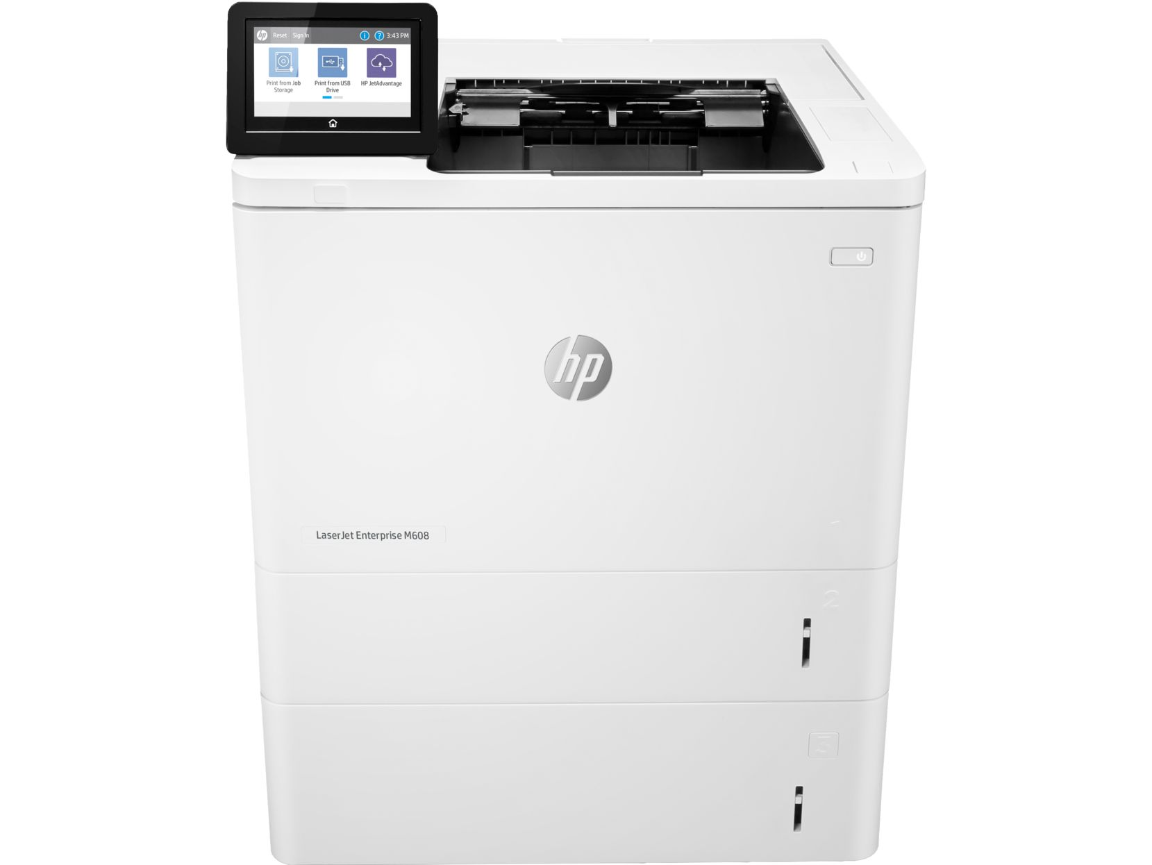 Фото - Принтер лазерный HP LaserJet Enterprise 600 M608x (K0Q19A) A4 Duplex Net WiFi принтер лазерный brother hl l8260cdw hll8260cdwr1 a4 duplex net wifi