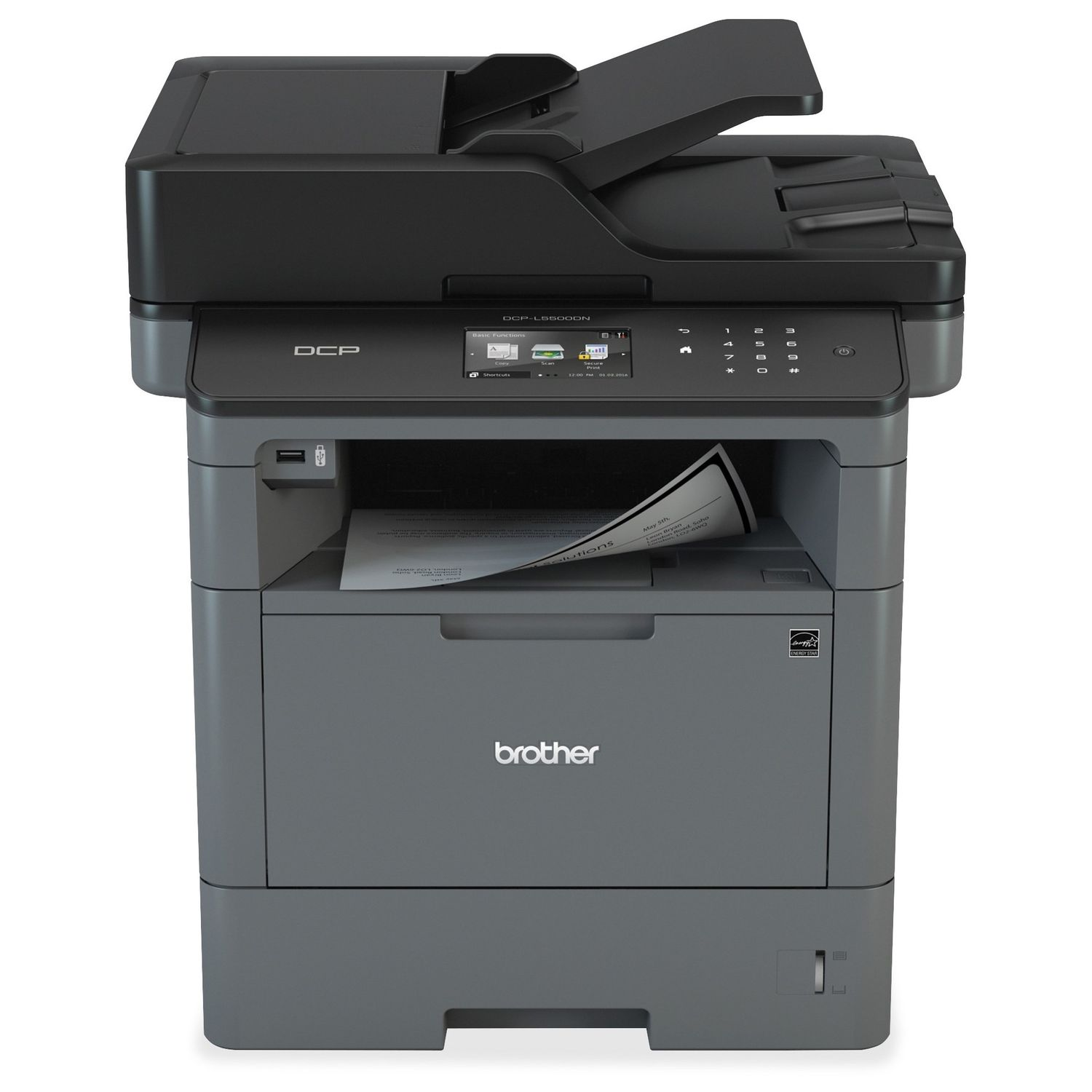 Фото - МФУ Brother DCP-L5500DN мфу brother dcp t710w ink benefit plus
