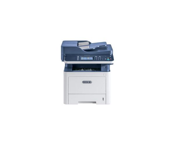 Фото - МФУ лазерный Xerox WorkCentre WC3335DNI (3335V_DNI) A4 Duplex Net WiFi белый/синий принтер лазерный brother hl l8260cdw hll8260cdwr1 a4 duplex net wifi