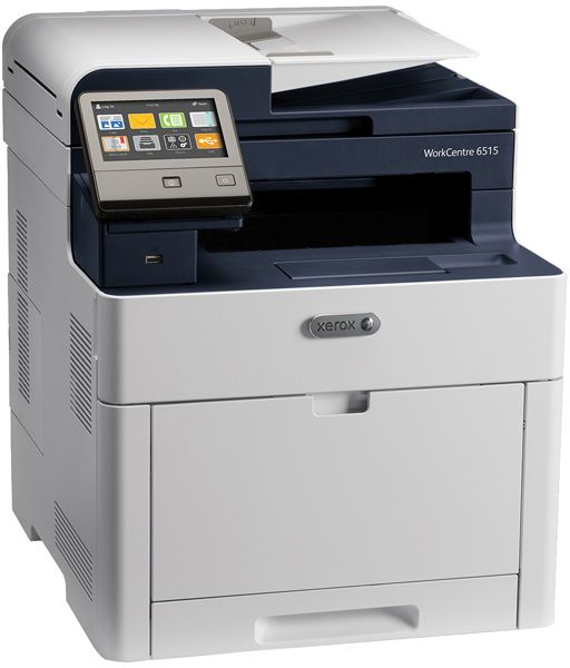 МФУ светодиодный Xerox WorkCentre 6515DNI (6515V_DNI) A4 Duplex WiFi белый/синий мфу xerox workcentre 6515dni
