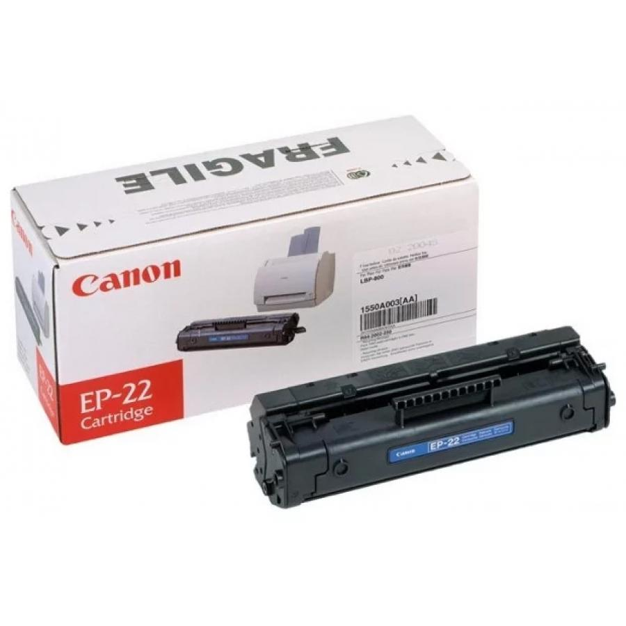 Картридж Canon EP-22 (1550A003) для Canon LBP-800/1120, черный картридж canon ep 27 черный [8489a002]
