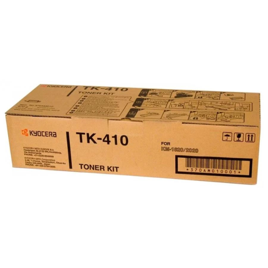 Картридж Kyocera TK-410 для Kyocera KM-1620/1635/1650/2020/2050, черный 5pcs set alzenit oem new for kyocera km 1620 1635 1650 2035 2050 2550 1648 180 181 220 221 fuser separation claw