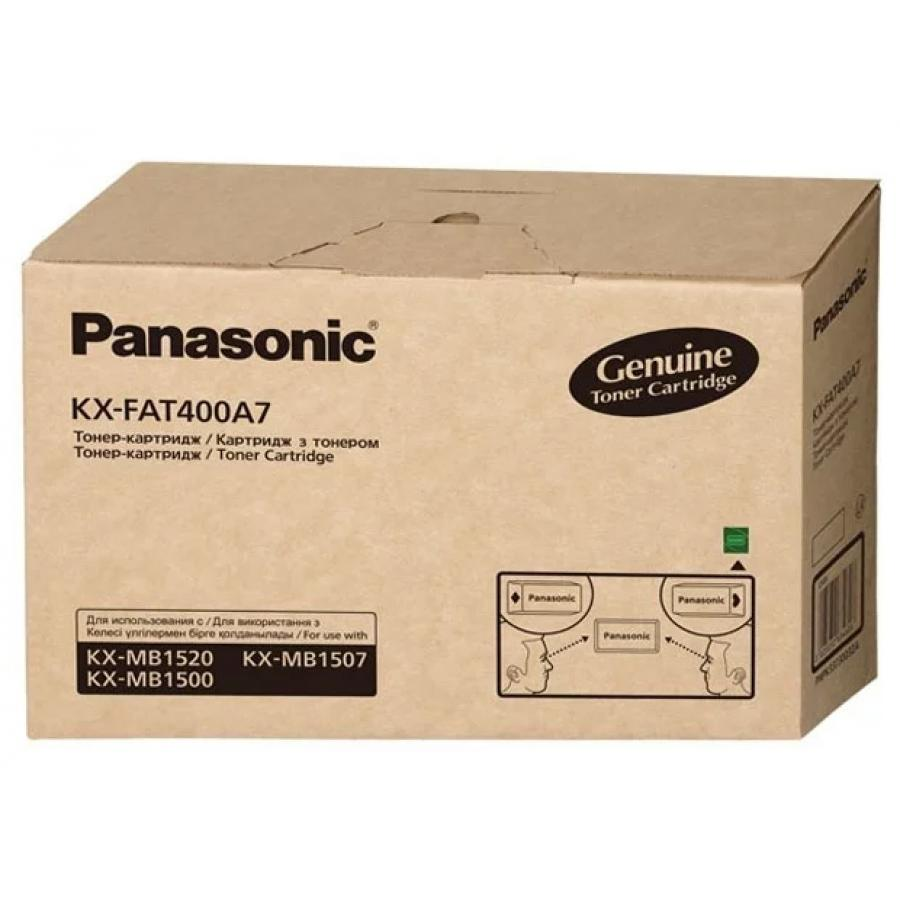 Картридж Panasonic KX-FAT400A7 для Panasonic KX-MB1500/1520, черный