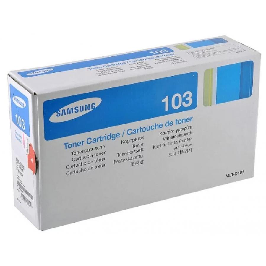Картридж Samsung MLT-D103S для Samsung ML-2950ND/2955ND, черный цена