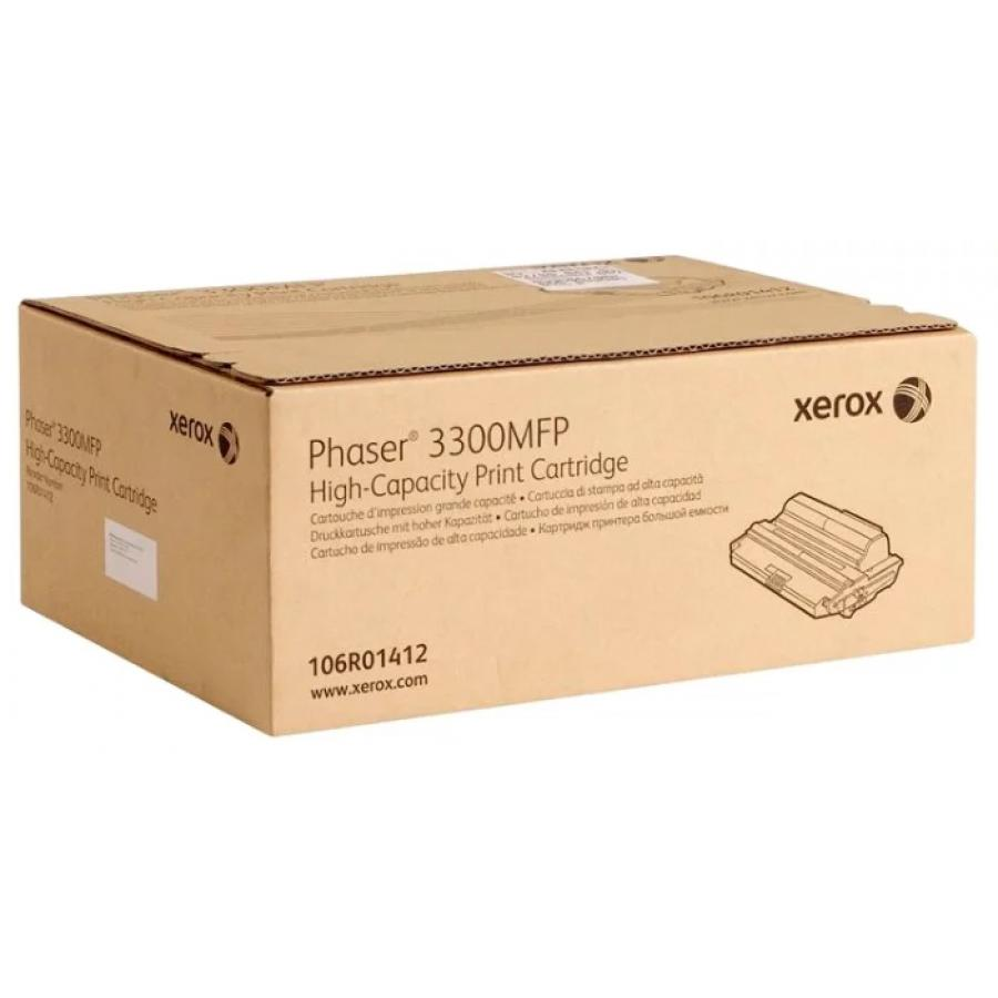 Картридж Xerox 106R01412 для Xerox Ph 3300, черный картридж xerox 113r00668 для xerox ph 5500 черный