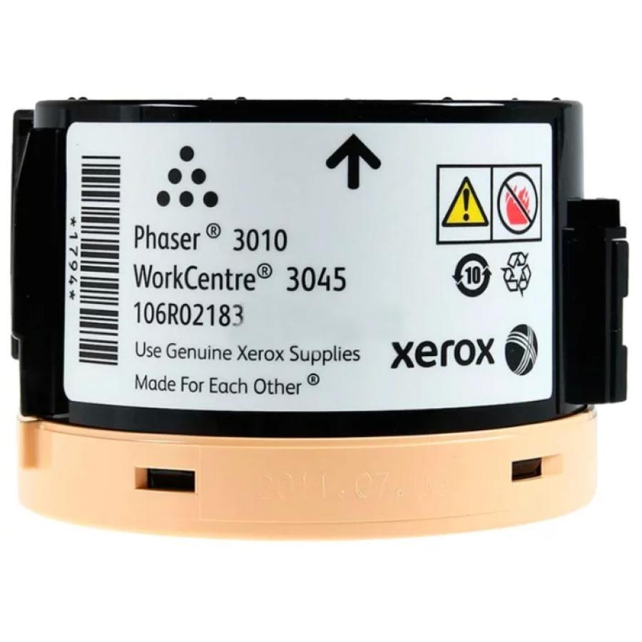 Картридж Xerox 106R02183 для Xerox Ph 3010/WC 3045B, черный картридж xerox 106r02721 для xerox ph 3610 wc 3615 черный