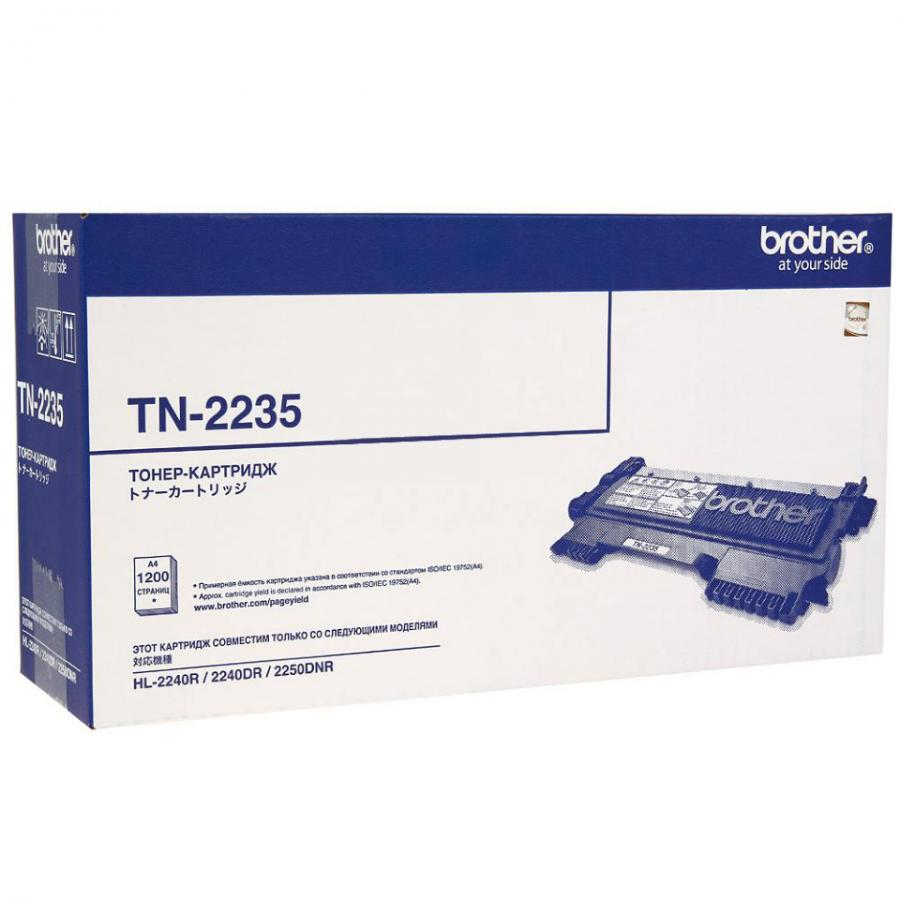 Картридж Brother TN2235 для Brother HL2240/2250/DCP7060/7065/7070/MFC7360/7860, черный картридж brother lc569xlbk черный