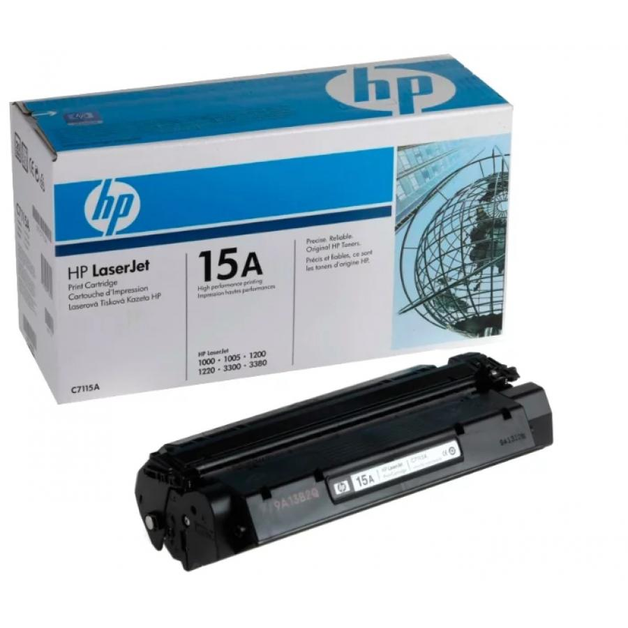 Картридж HP C7115A для HP LJ 1000w/1200/1220/1000W, черный 1pcs separation pad for hp laserjet 1000 1150 1200 1220 1300 3300 3310 3320 3330 printer separation pad applies