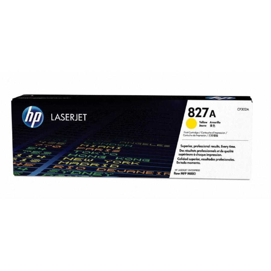 Картридж HP CF302A для HP CLJ Ent M880, желтый картридж hp pigment ink cartridge 70 black z2100 3100 3200 c9449a