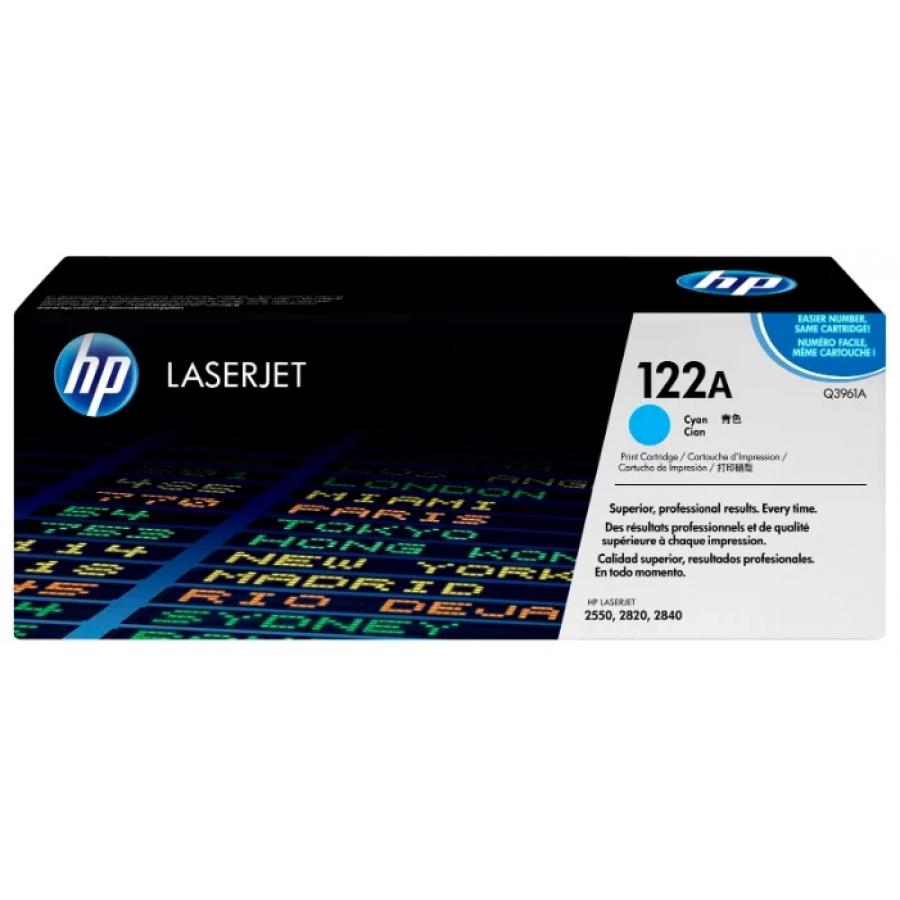 Картридж HP Q3961A для HP 2820/2840/2550L/2550Ln/2550n, голубой картридж hp pigment ink cartridge 70 black z2100 3100 3200 c9449a