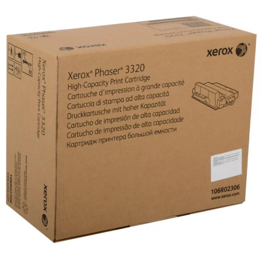 Картридж Xerox 106R02306 для Xerox Ph 3320, черный цена