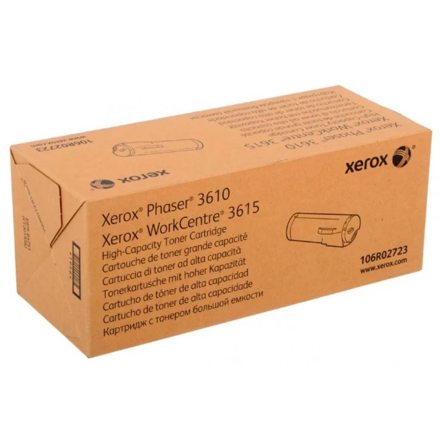 Картридж Xerox 106R02723 для Xerox 3610/3615, черный картридж xerox 106r02721 для xerox ph 3610 wc 3615 черный