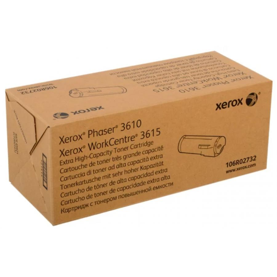Картридж Xerox 106R02732 для 3610/3615, черный картридж xerox 106r02721 для xerox ph 3610 wc 3615 черный