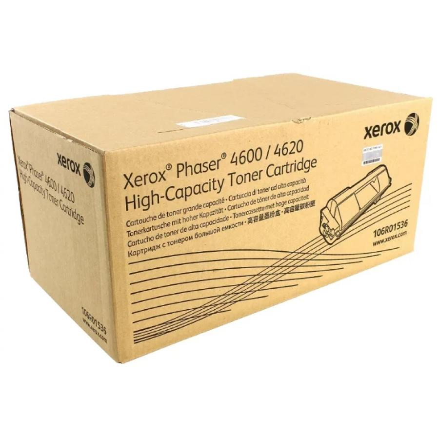 Картридж Xerox 106R01536 для Xerox Ph 4600/4620, черный картридж xerox 106r01536 для xerox ph 4600 4620 черный