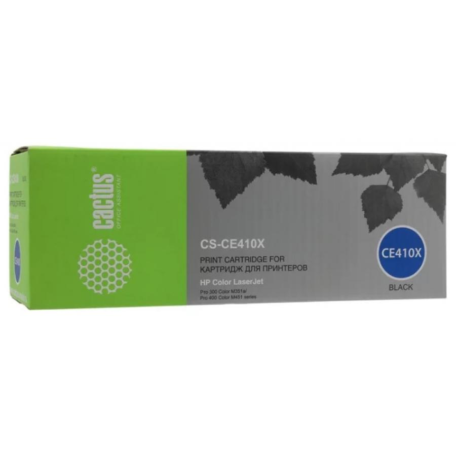 Картридж Cactus CS-CE410X для HP CLJ Pro 300/M351/M451/M375/M475, черный alzenit for hp pro 300 m351 m375 original used fuser unit assembly 220v printer parts