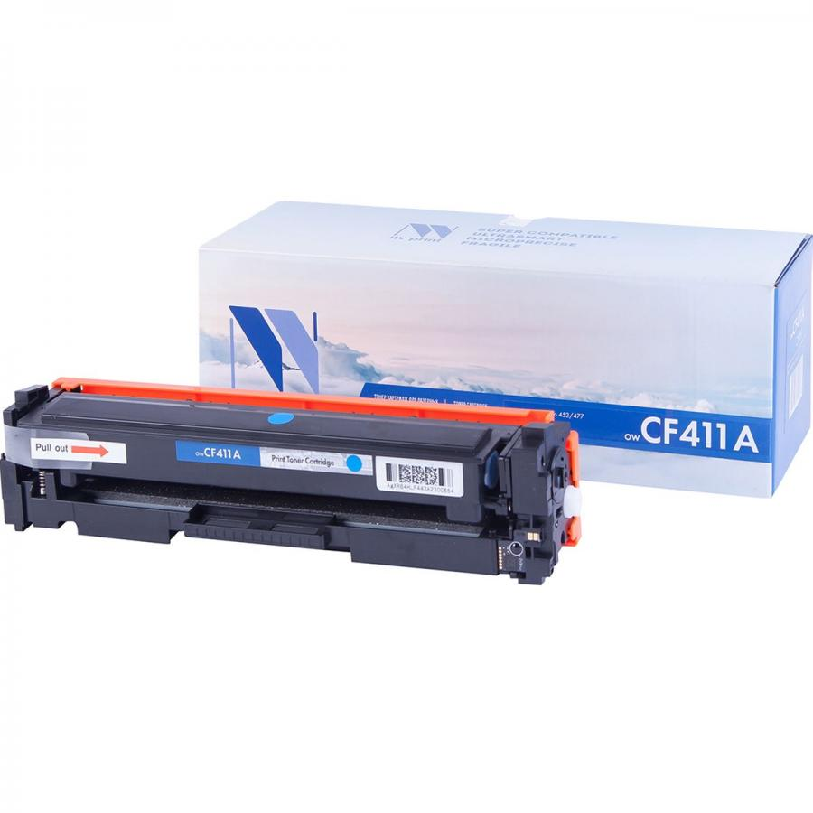 Картридж NV Print CF411A Cyan для Нewlett-Packard LaserJet Color Pro M377dw/M452nw/M452dn/M477fdn/M477fdw/M477fnw (2300k) flower candles print waterproof shower curtain