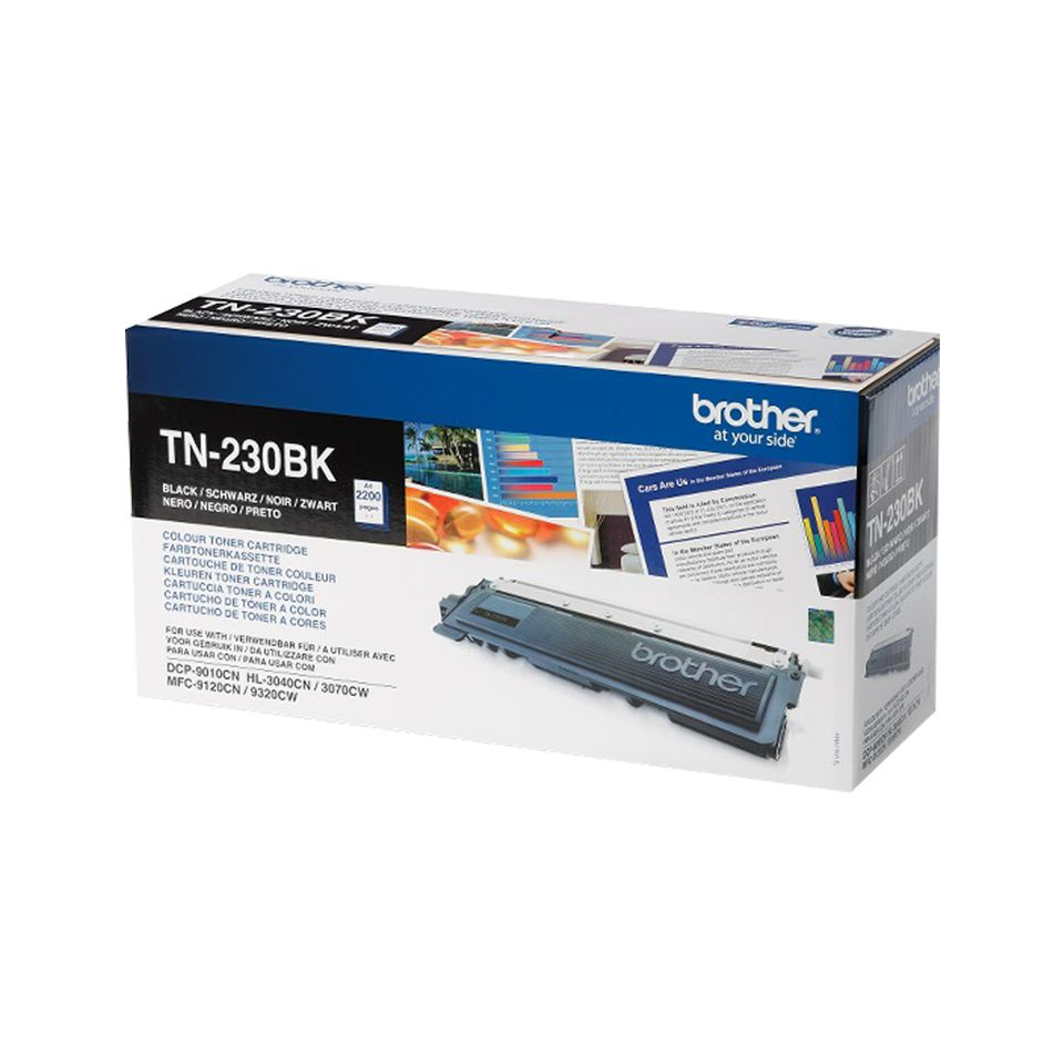 Фото - Тонер Картридж Brother TN230BK черный (2200стр.) для Brother HL3040/3070/DCP9010/MFC9120/9320 картридж brother tn230m для brother hl3040 3070 dcp9010 mfc9120 9320 пурпурный