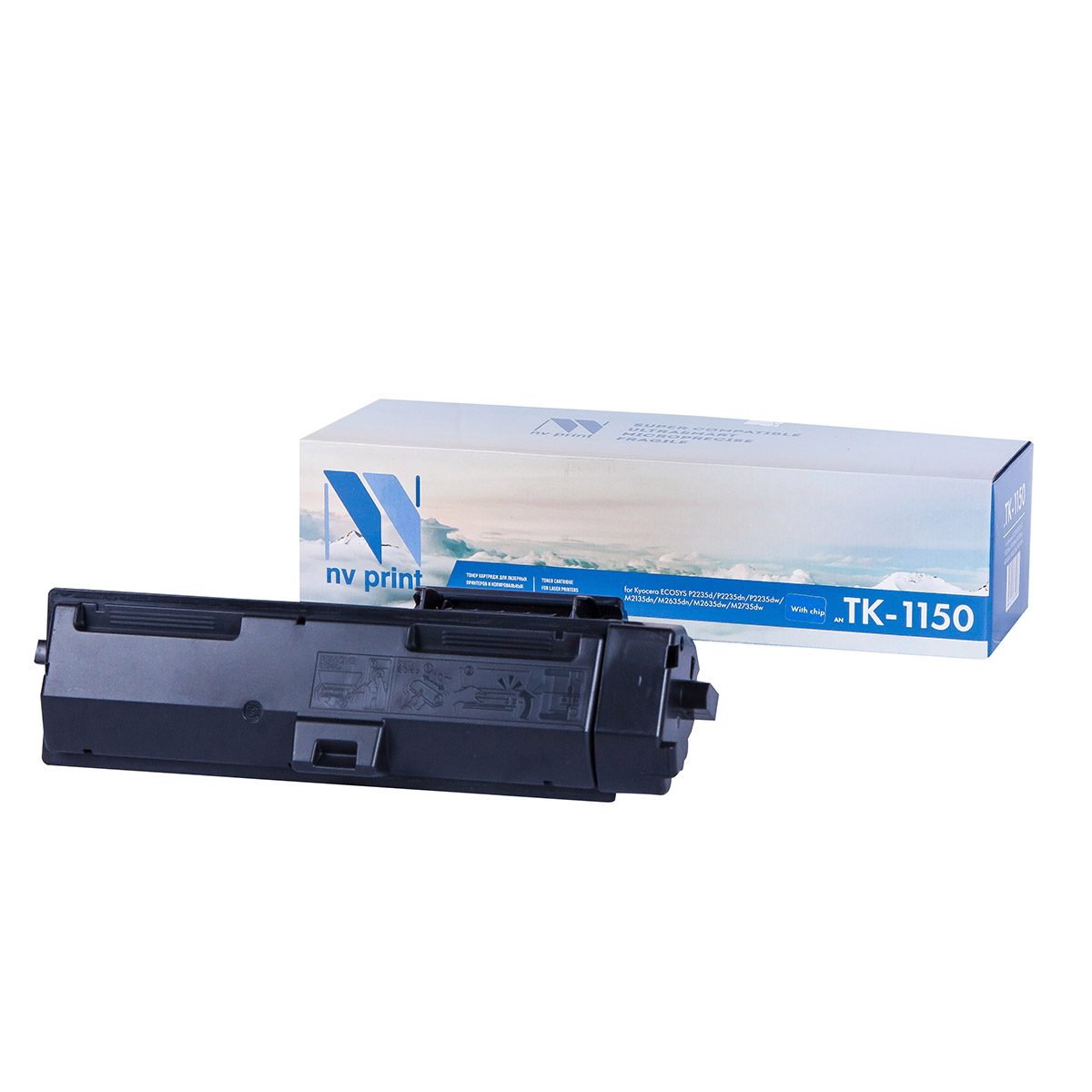 Фото - Картридж NV Print TK-1150 для Kyocera ECOSYS P2235d/P2235dn/P2235dw/M2135dn/M2635dn/M2635dw/M2735dw (3000k) panasonic аlkaline power aaa lr03 2 шт