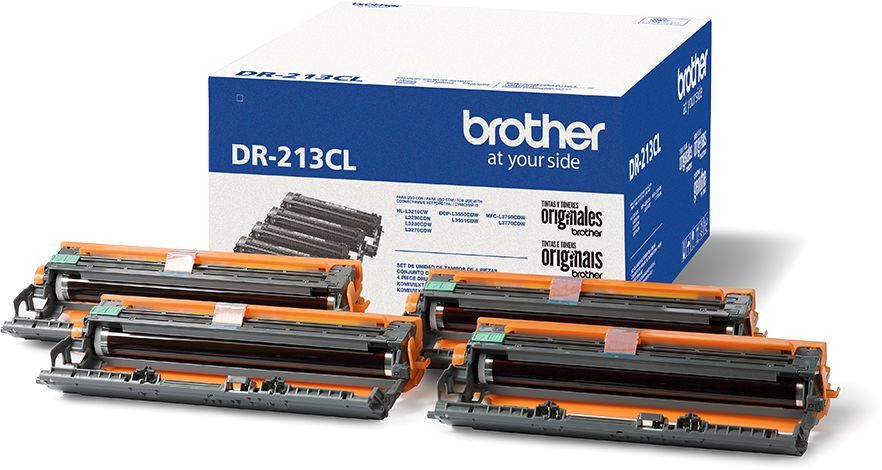 Фото - Фотобарабан Brother DR213CL фотобарабан brother dr320cl drum