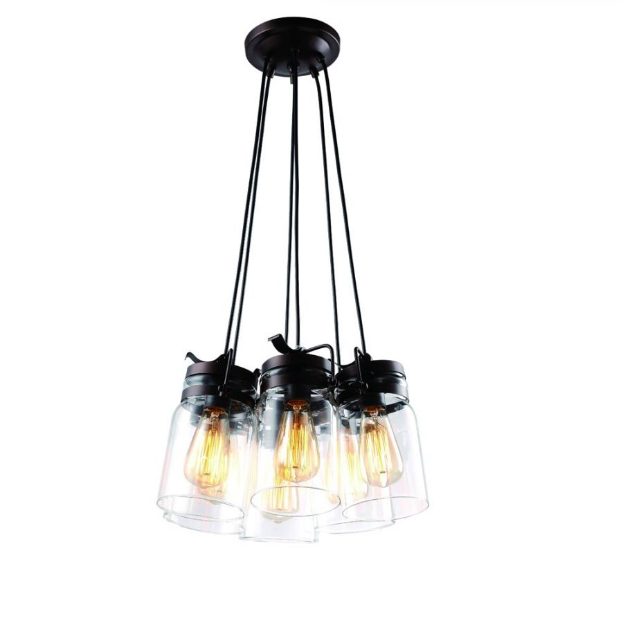 Люстра Arte lamp A9179SP-6CK nordic wrought iron simple modern pendant lamp with led bulb dinning room light cafe lamp e27 110v 220v free shipping