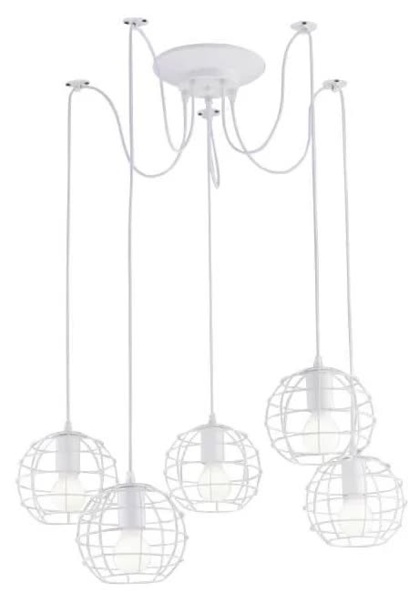 Люстра Arte lamp Spider A1110SP-5WH фото