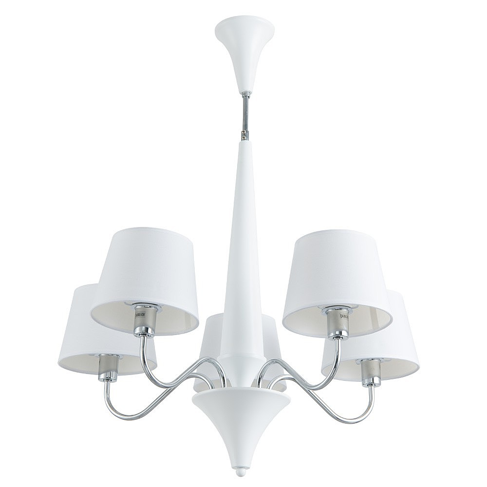 Люстра Arte lamp Gracia A1528LM-5WH