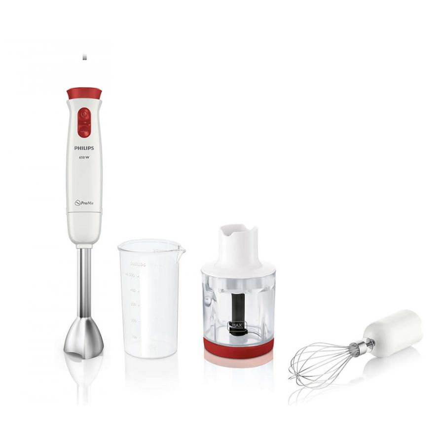 Погружной блендер Philips HR1627 Daily Collection стационарный блендер philips hr2051 hr2052 daily collection