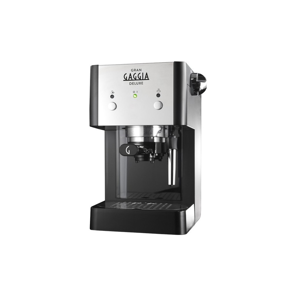 Кофемашина Gaggia Gran De Luxe Black coffee machine gaggia viva deluxe