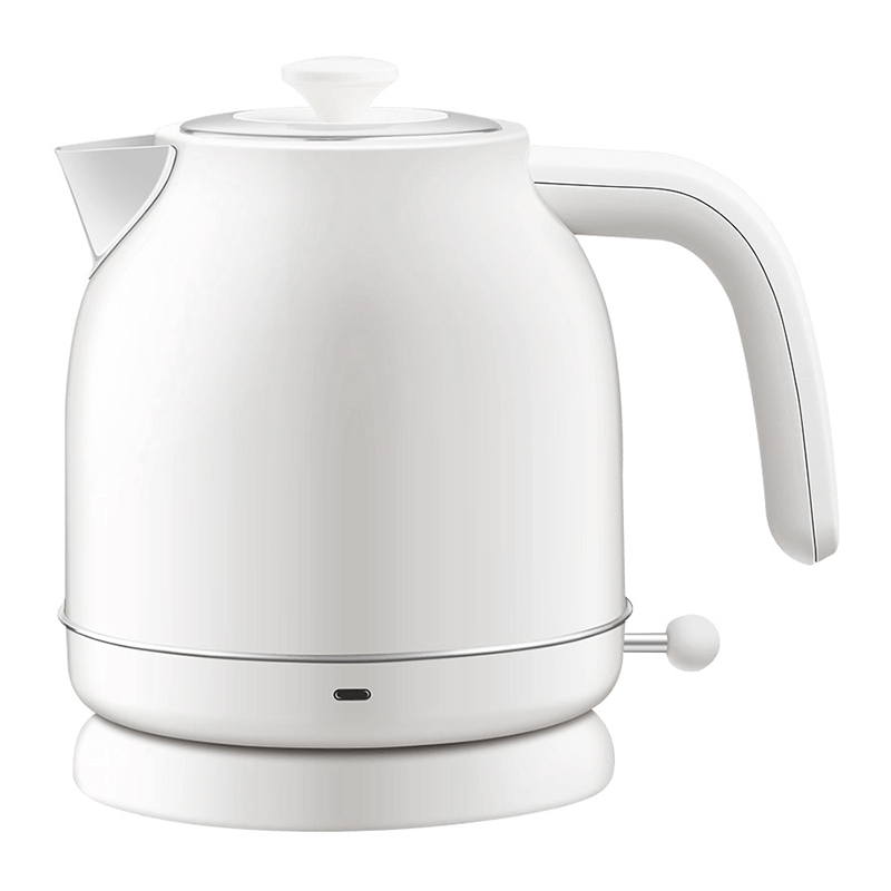 Электрочайник Xiaomi Qcooker Retro Electric Kettle с датчиком температуры White