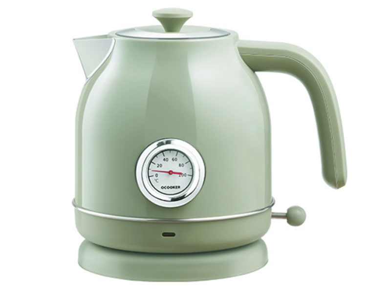 Электрочайник Xiaomi Qcooker Retro Electric Kettle с датчиком температуры Green