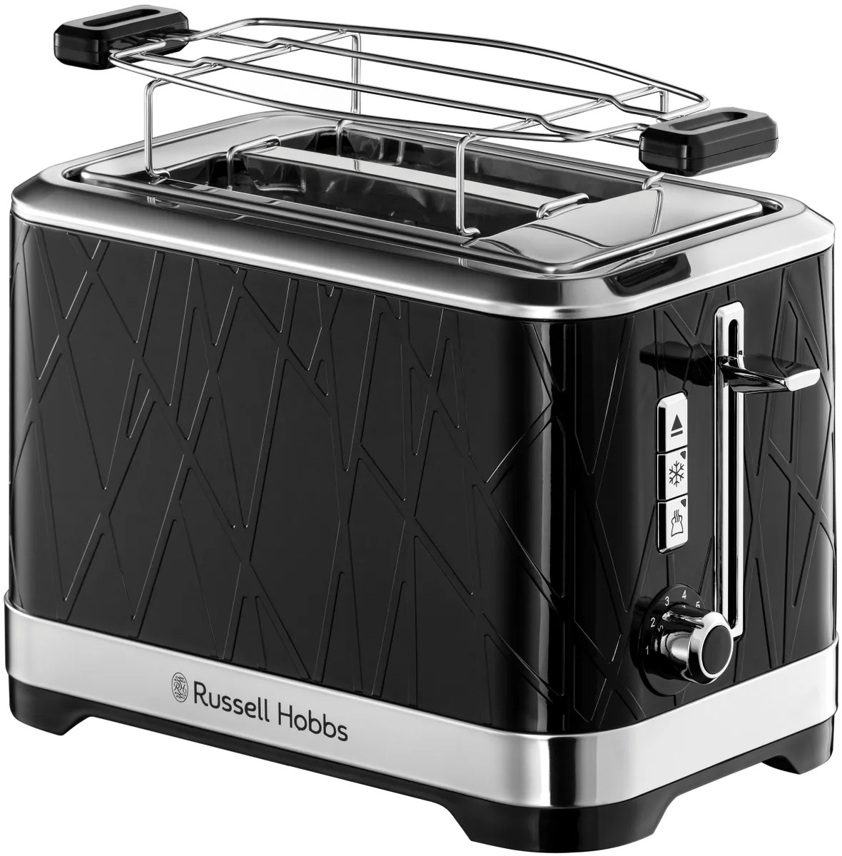 Тостер Russell Hobbs 28091-56 Structure 2S Toaster Black