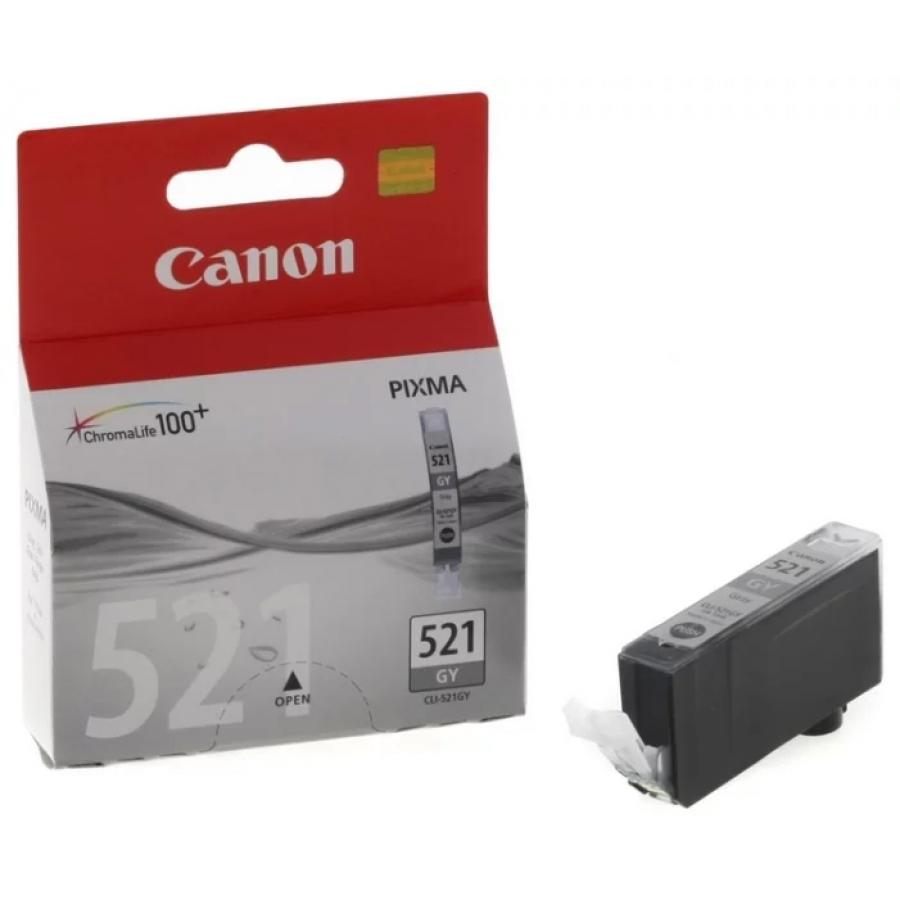 Картридж Canon CLI-521GY (2937B004) для Canon MP980/990, серый canon cli 521gy gray