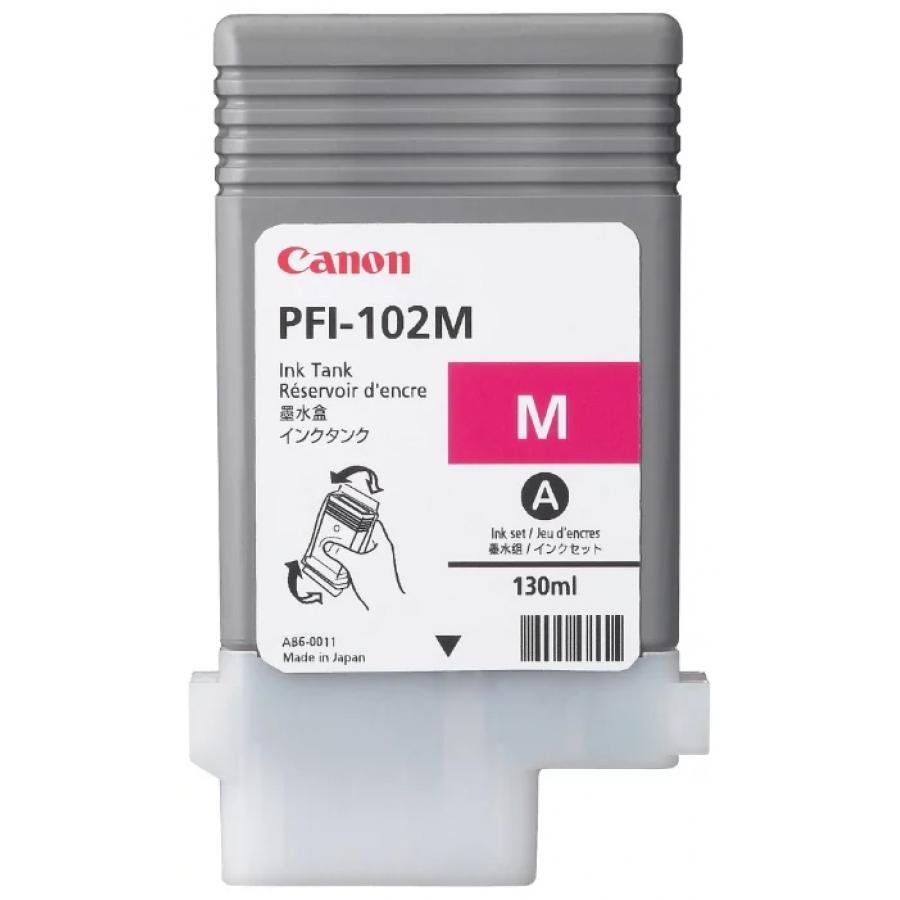 Картридж Canon PFI-102M (0897B001) для Canon iP F510/605/610, пурпурный for canon pfi 107 disposable cartridge chip for canon ipf680 ipf685 ipf770 ipf780 ipf785 printer