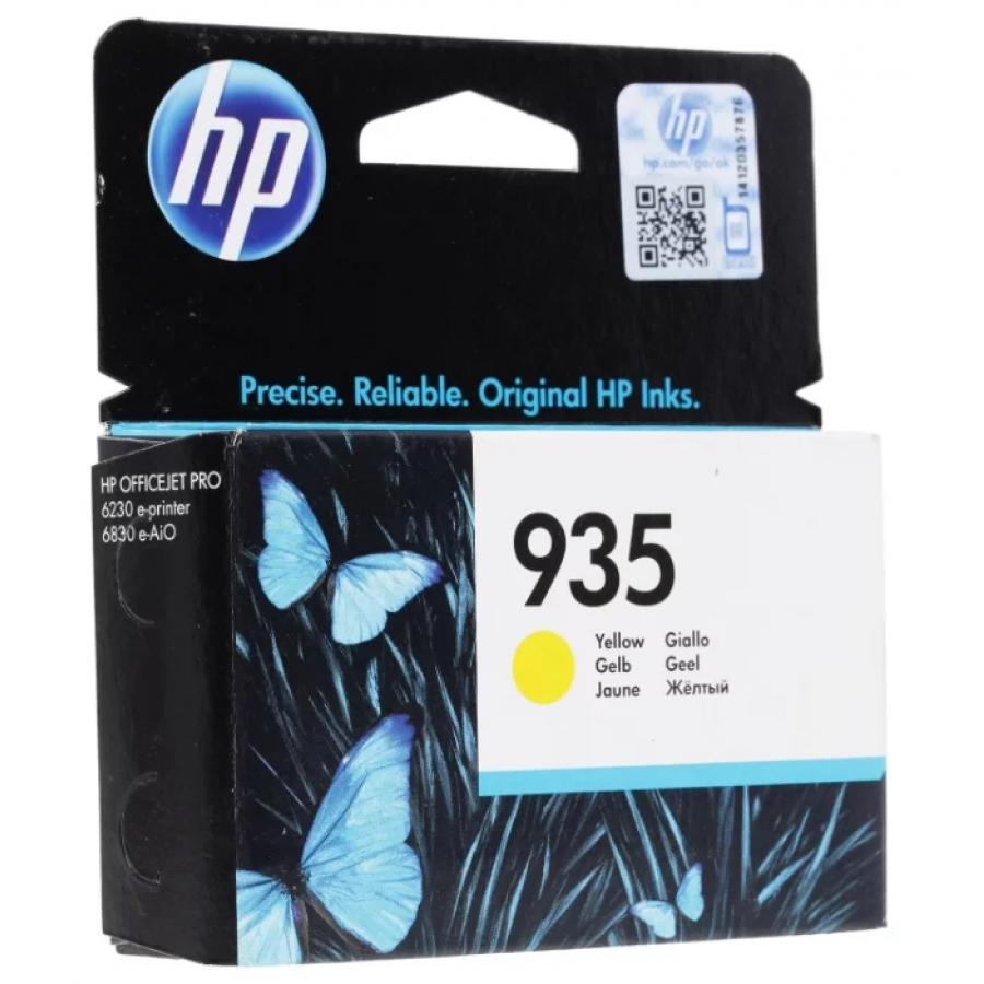 Картридж HP C2P22AE для HP OJ Pro 6830, желтый картридж hp 935 yellow c2p22ae