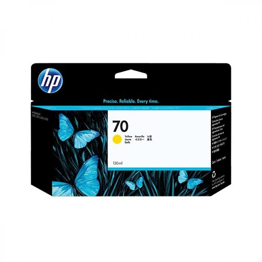 Картридж HP C9454A для HP DJ Z2100/Z3100, желтый картридж hp pigment ink cartridge 70 yellow z2100 3100 3200 c9454a