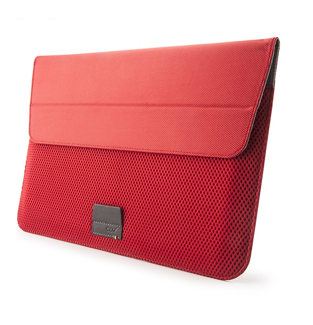 Чехол Cozistyle ARIA Stand Sleeve MacBook 11 Air/ 12 - Flame Red чехол для ноутбука macbook pro 15 cozistyle aria stand sleeve поликарбонат красный cass1511
