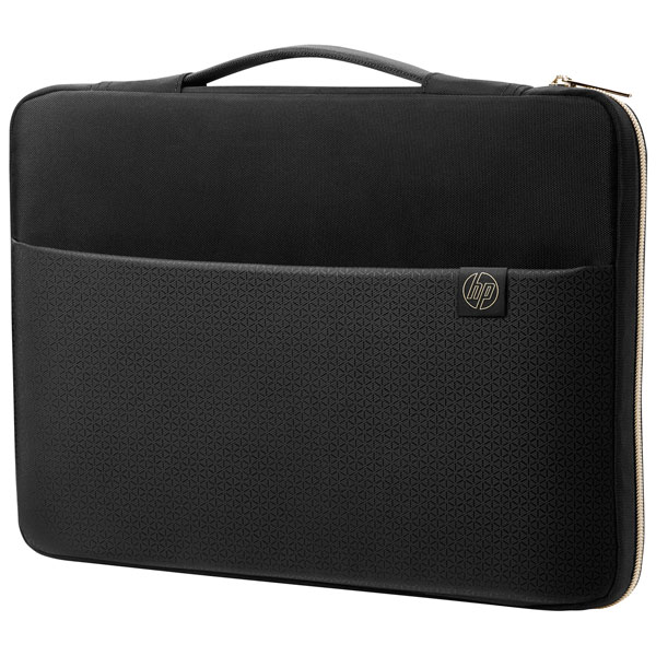 Чехол HP 15 Carry Sleeve Black/Gold аксессуар чехол 14 0 inch hp carry sleeve grey 1pd66aa